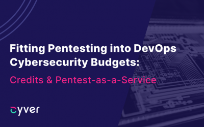 Fitting Pentesting into DevOps Cybersecurity Budgets with Pentest Credits