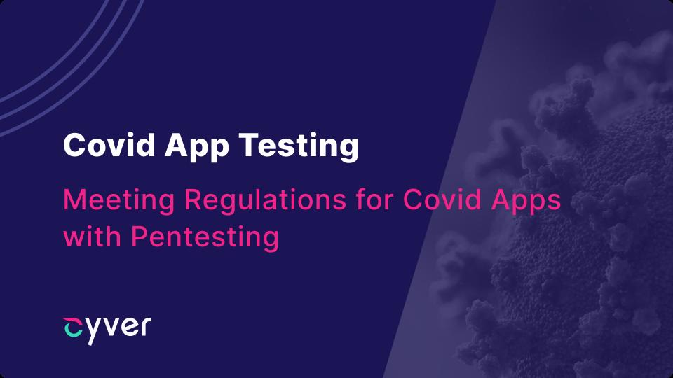 covid app pentesting